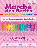 Marche des Fiertés LGBT 2008 - 28 giugno